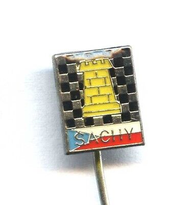 CZECH REPUBLIC CHESS FEDERATION pin badge шахматы Schach
