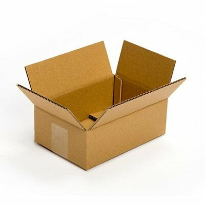 25 Pack 9x6x3 Cardboard Box Packing Shipping Mailing Storage Flat Moving Stock