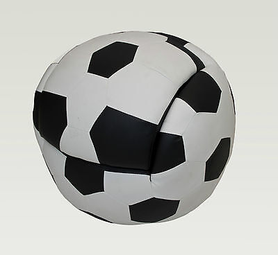 Kids' Furniture Couch Soccer Ball Sofa with Foot Stool