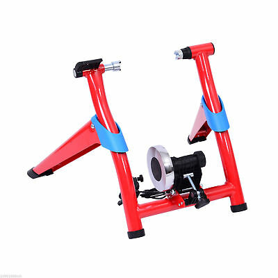 Soozier Folding Magnetic Bicycle Bike Trainer 8-Speed Indoor Exercise Cycling
