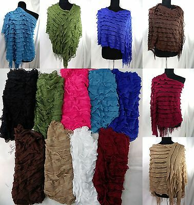 US SELLER-wholesale lot of 6 batwing poncho all seasons casual sweater jumpers