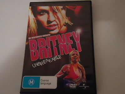 DVD Britney Unbreakable (Very Good Condition)
