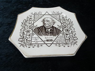 Plate - Reg Mark C1886 - William Ewart Gladstone Liberal Prime Minister