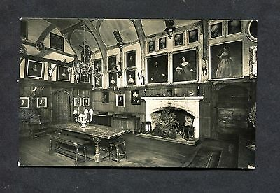 Postcard - C1930's, View of the Interior of an English Manor House.