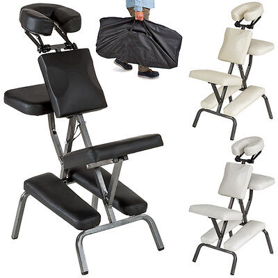 Chaise de massage de traitement pliante avec rembourrage épais tattoo