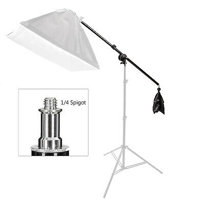 75-135Cm Video Light Holding Boom Arm Tripod Sandbag Photo Lighting