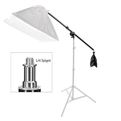Studio Boom Arm 135cm Overhead Photography Stand Grip Counterweight Photo Video