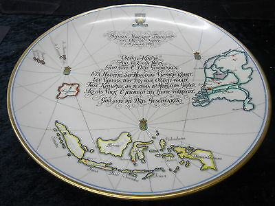 Commemorative Plate Birth of Princess Margaret of the Netherlands 19th Jan 1943