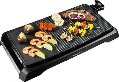 Andrew James Electric Teppanyaki Grill Table Top BBQ Griddle Skillet Plancha