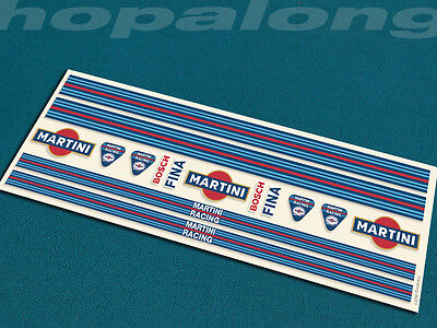 Scalextric/Slot Car 1/32 Scale Peel & Stick  Decals. ds201