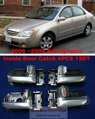 For 2006~2009 KIA Spectra Cerato Handle Assembly Inside Door Catch 4PCS Genuine