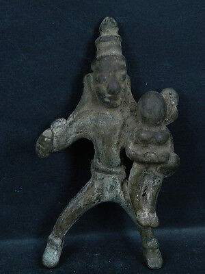 Ancient Hindu Temple Bronze Deity C.1700 AD