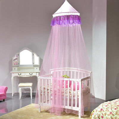 Mosquito Net Netting Mesh Bed Canopy Fly Insect Protection Round Dome Lace Net