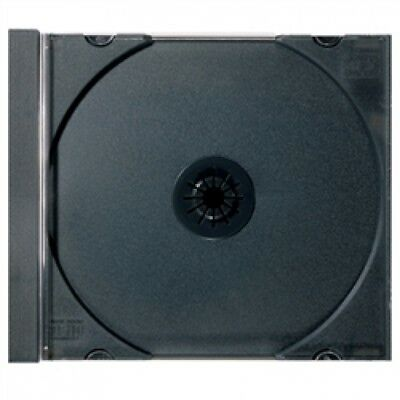 50 STANDARD Black CD Jewel Case  (Tray Only, NO Cartons)