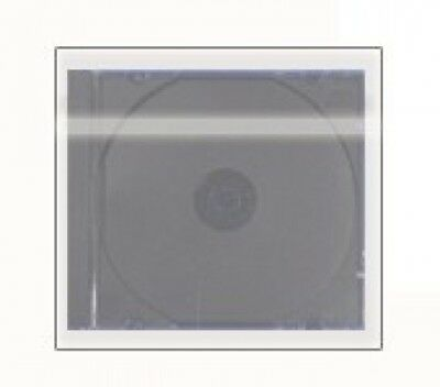 5000 OPP Plastic Wrap Bag for Standard CD Jewel Case 10.4mm