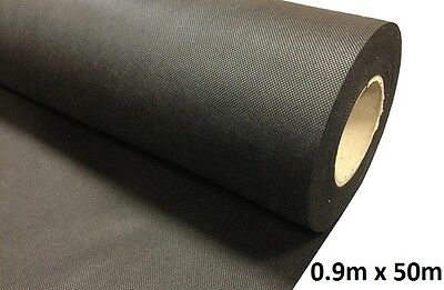 0.9M x 50M Weed Control Fabric Landscape Membrane Ground Cover 50gms