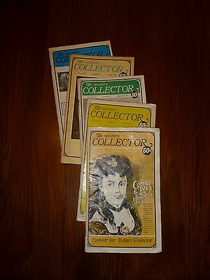 5 issues Western Collector Magazines 1970-1972