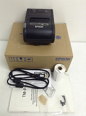 Epson TM-P60II Wireless Direct Thermal Printer C31CC79511 Mobile Handheld - NEW