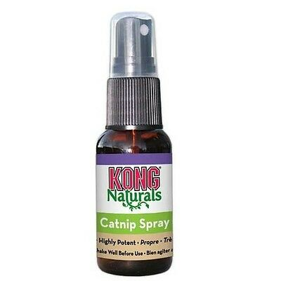 KONG Naturals - Catnip Spray 1oz FREE SHIPPING New with Tags
