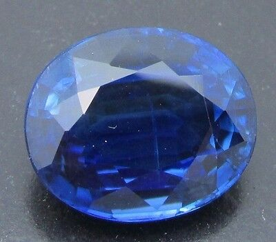 6.41 cts. - Exceptionally Large & Vivid Blue Kyanite With Video!