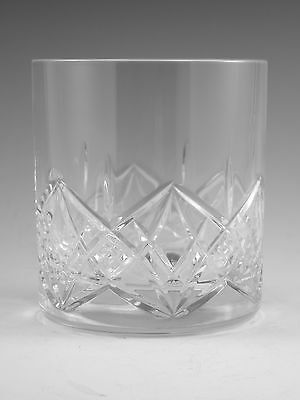 EDINBURGH Crystal - MIRAGE Pattern - Large Tumbler Glass / Glasses - 3 3/4""