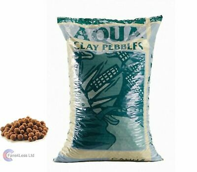 QUALITY CANNA Aqua Clay Pebbles 10, 25 & 45 Litre Bag Hydroponics Growing Media