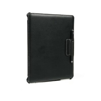New Protective iPad Case Cover Folio Stand for iPad 4/3/2 Leather Effect - Black