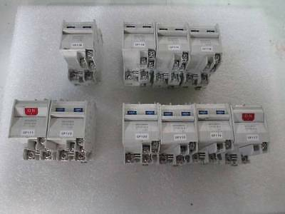 Lot of 10 Mitsubishi CP30-BA Circuit Protector Mixed 1A/3/10/15A