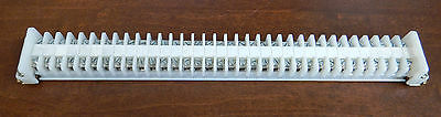 Allen-Bradley Fuse Holder with Rail and 2 end barriers (34)