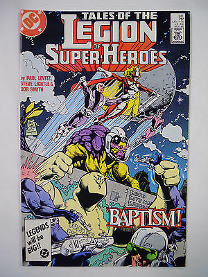 VINTAGE! DC Comics Tales of the Legion of Super-Heroes #341 (1986)