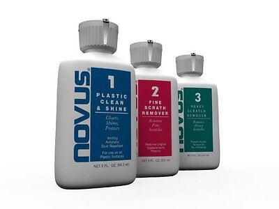NOVUS 7136 Plastic Polish Kit - 2 oz., New, Free Shipping