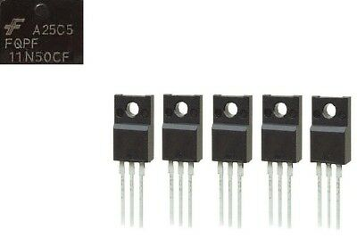 Lot of 10pcs FDA50N50 MOSFET 500V 48A TO-3P GENUINE FAIRCHILD