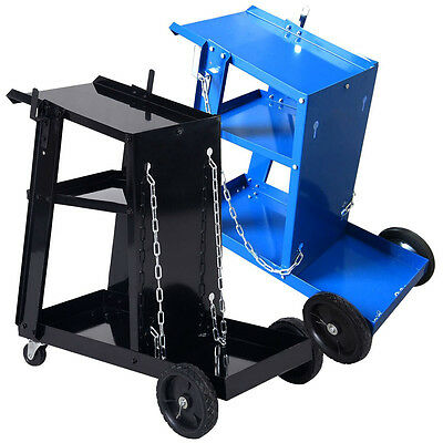 New Welding Cart / Trolley For MIG TIG ARC MMA Welder Plasma Cutter Gas Bottles