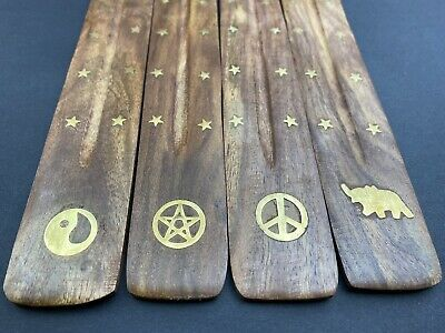 3 X HAND CARVED INCENSE STICK HOLDER New Style Mother's Day Gift
