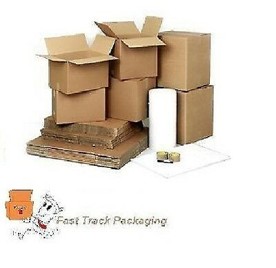 15 X Heavy Duty Large Double Wall Removal Packing Boxes-House Moving Kit - 24Hrs