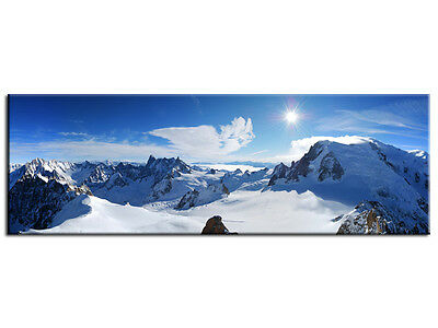 2 cadres photo en metal decor paris dimensions 14x17 5 cm for Decoration murale montagne