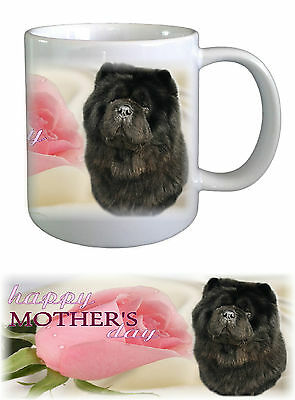 Chow Chow Dog Mothers Day Ceramic Mug by paws2print