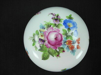 HEREND BOUQUET OF FLOWERS (?) 6031 EXTRA LARGE (4 1/2 INCH) BON BON