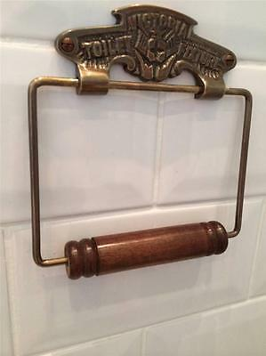 Victoria Vintage Bronze Finish Toilet Roll Loo Paper Holder Retro Bathroom WC