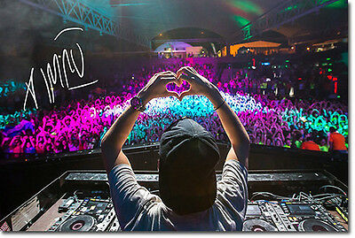 AVICII - SIGNED PHOTO PRINT POSTER 2 - HIGHEST QUALITY PRINT-