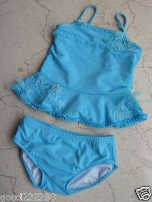 NWT Kate Mack Baby Girls/Toddler Skirted Two Piece Tankini Swimsuits 12M-24M #GK