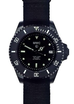 MWC 24 Jewel | 300m | Black PVD Steel | Automatic | Submariners/Divers Watch