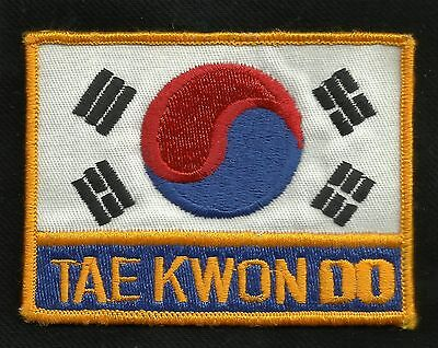 Vintage Tae Kwon Do Karate Fighting Patch - New Old Stock