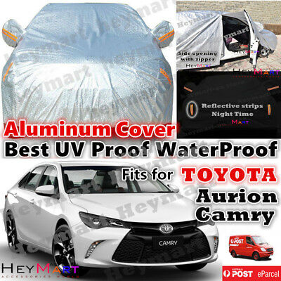 Fits For Toyota Camry Aurion Guarantee Waterproof car cover Aluminum Car cover
