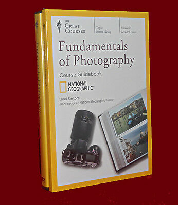 NEW DVD's 24 Lectures Fundamentals of Photography The Great Courses Teaching Co