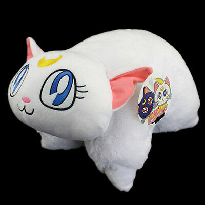 Christmas Happy Cuddle Cushion Transforming ARTEMIS Luna Pillow From Sailor Moon