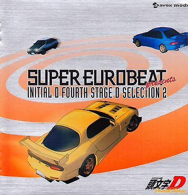 Initial D 4th Stage Vol. II 2 CD Music Original Soundtrack O.S.T (FREE SHIPPING)