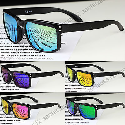 New Active Outdoors Sports Cycling Square Shape Sunglasses Mens