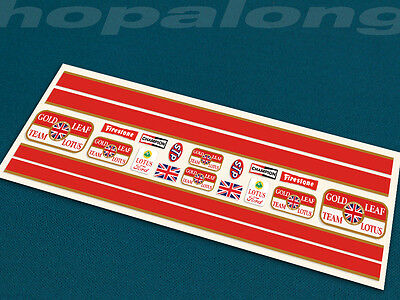Scalextric/Slot Car 1/32 Scale Peel & Stick  Decals. ds204