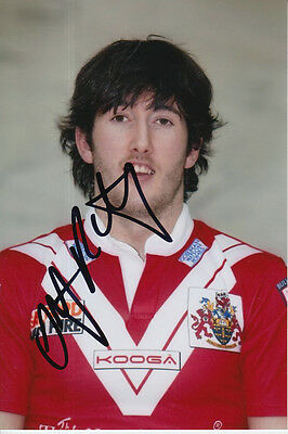 Wigan Warriors Hand Signed Stefan Ratchford 6X4 Photo 1.